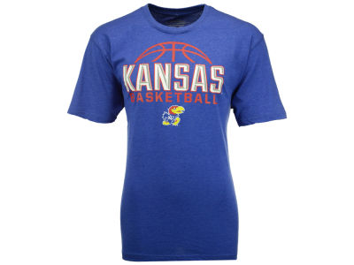 Kansas Jayhawks NCAA Men's Basketball Dome T-Shirt