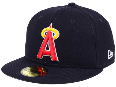 Los Angeles Angels New Era MLB Banner Patch 2.0 59FIFTY Cap