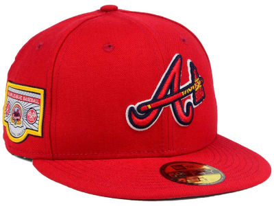 Atlanta Braves New Era MLB Banner Patch 2.0 59FIFTY Cap