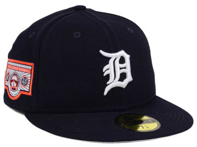 Detroit Tigers New Era MLB Banner Patch 2.0 59FIFTY Cap