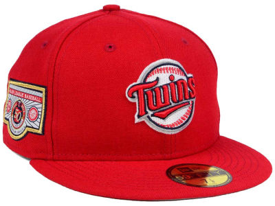 Minnesota Twins New Era MLB Banner Patch 2.0 59FIFTY Cap