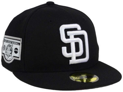 San Diego Padres New Era MLB Banner Patch 2.0 59FIFTY Cap