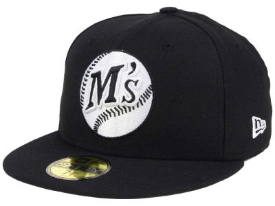 Seattle Mariners New Era MLB Banner Patch 2.0 59FIFTY Cap