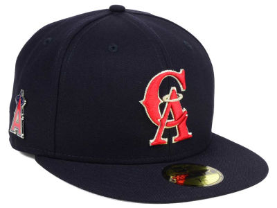 Los Angeles Angels New Era MLB Pintastic 59FIFTY Cap