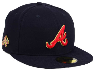 Atlanta Braves New Era MLB Pintastic 59FIFTY Cap