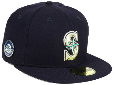Seattle Mariners New Era MLB Pintastic 59FIFTY Cap