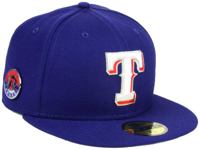 Texas Rangers New Era MLB Pintastic 59FIFTY Cap