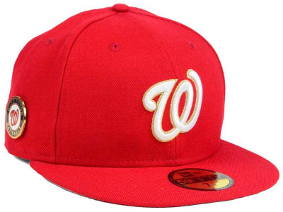 Washington Nationals New Era MLB Pintastic 59FIFTY Cap