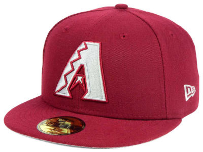 Arizona Diamondbacks New Era MLB Cardinal Gray 59FIFTY Cap