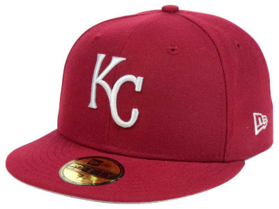 Kansas City Royals New Era MLB Cardinal Gray 59FIFTY Cap