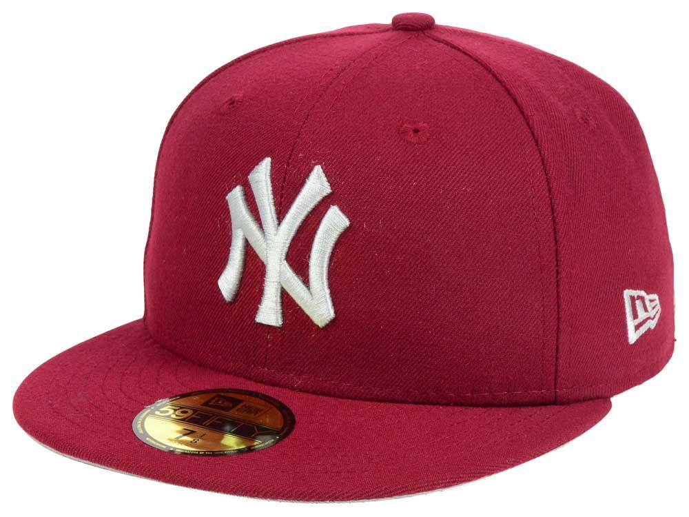 864e0c960d2 New York Yankees New Era MLB Cardinal Gray 59FIFTY Cap