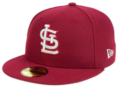 St. Louis Cardinals New Era MLB Cardnial Gray 59FIFTY Cap