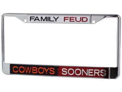 Oklahoma Sooners House Divided Laser Frame