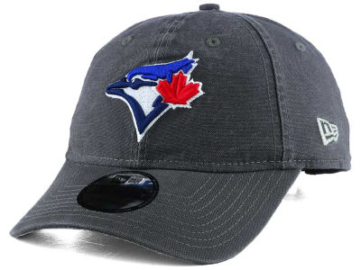 Toronto Blue Jays New Era MLB Core Classic Graphite Adjustable Cap