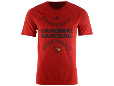 Louisville Cardinals adidas NCAA Men's Big Stiches Baseball T-Shirt
