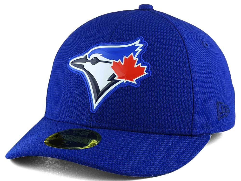 Toronto Blue Jays New Era MLB Low Profile Bevel Team 59FIFTY Cap ... 83023ff03a4e