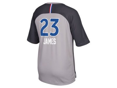 NBA All Star LeBron James adidas NBA Men's All Star Game Player Shooter Shirt