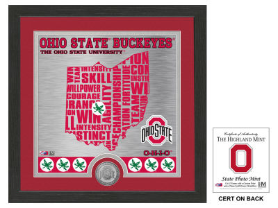 Ohio State Buckeyes State Coin Photo Mint