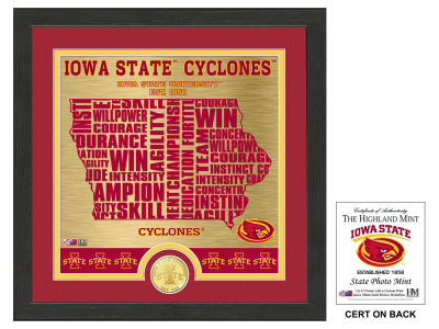 Iowa State Cyclones State Coin Photo Mint