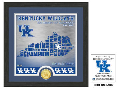 Kentucky Wildcats State Coin Photo Mint