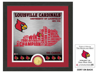 Louisville Cardinals Highland Mint State Coin Photo Mint