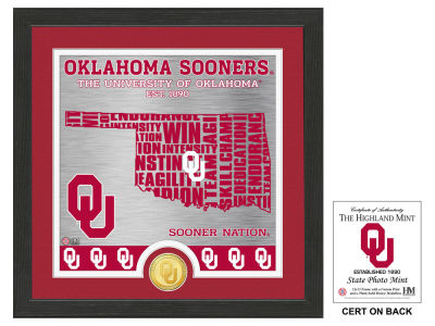 Oklahoma Sooners State Coin Photo Mint
