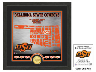 Oklahoma State Cowboys State Coin Photo Mint