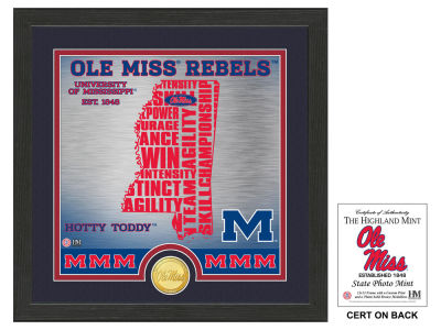Ole Miss Rebels Highland Mint State Coin Photo Mint
