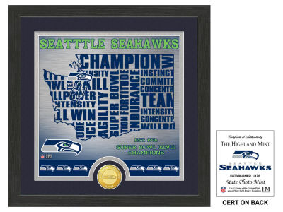 Seattle Seahawks State Coin Photo Mint