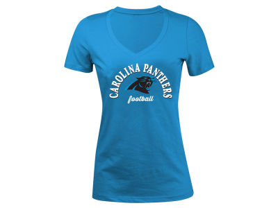 Carolina Panthers 5th & Ocean NFL Women's Checkdown LE T-Shirt