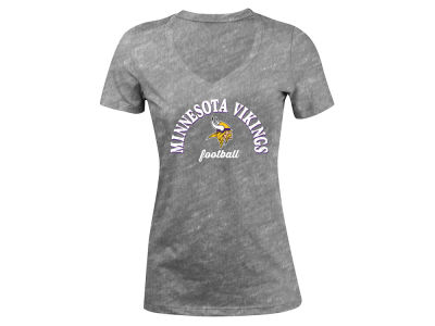 Minnesota Vikings 5th & Ocean NFL Women's Checkdown LE T-Shirt