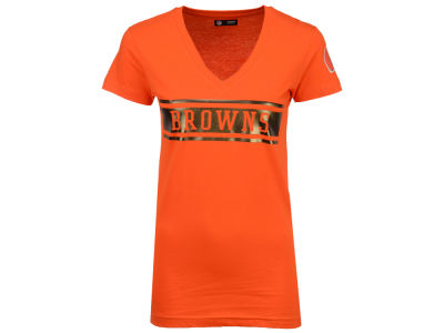Cleveland Browns 5th & Ocean NFL Women's Touchback T-Shirt