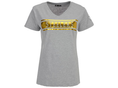 Pittsburgh Steelers 5th & Ocean NFL Women's Touchback T-Shirt