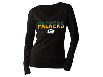 Green Bay Packers 5th & Ocean NFL Women's Huddle Long Sleeve T-Shirt