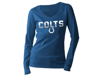 Indianapolis Colts 5th & Ocean NFL Women's Huddle Long Sleeve T-Shirt