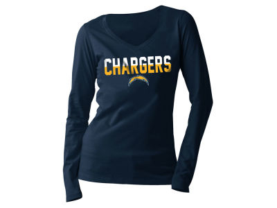 San Diego Chargers 5th & Ocean NFL Women's Huddle Long Sleeve T-Shirt