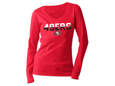 San Francisco 49ers 5th & Ocean NFL Women's Huddle Long Sleeve T-Shirt