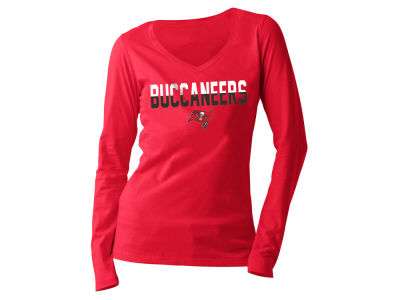 Tampa Bay Buccaneers 5th & Ocean NFL Women's Huddle Long Sleeve T-Shirt