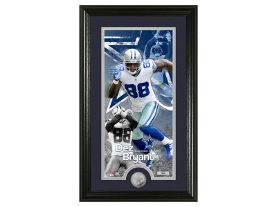 Dallas Cowboys Dez Bryant Supreme Bronze Coin Photo Mint