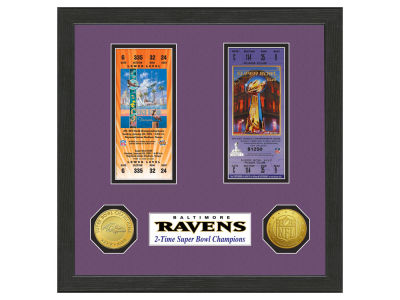 Baltimore Ravens Ticket Frame