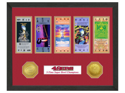 San Francisco 49ers Ticket Frame