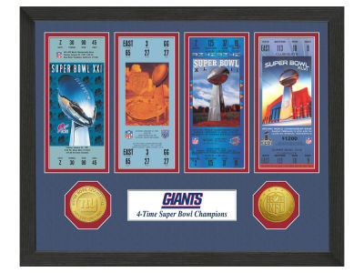 New York Giants Ticket Frame