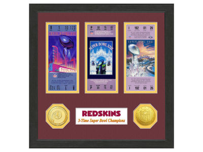 Washington Redskins Ticket Frame