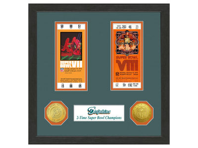 Miami Dolphins Ticket Frame