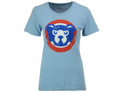 Chicago Cubs Majestic MLB Women's 94 Cubbie Bear T-Shirt