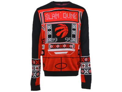 Toronto Raptors NBA Men's Light Up Ugly Sweater