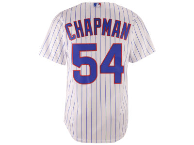 Chicago Cubs Aroldis Chapman Majestic MLB Men's Player Replica CB Jersey