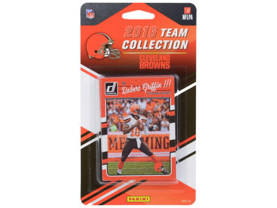 Cleveland Browns 2016 NFL Team Card Set