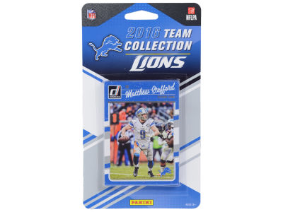 Detroit Lions 2016 NFL Team Card Set
