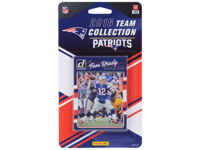 New England Patriots 2016 NFL Team Card Set